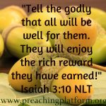 Quote : God's Reward