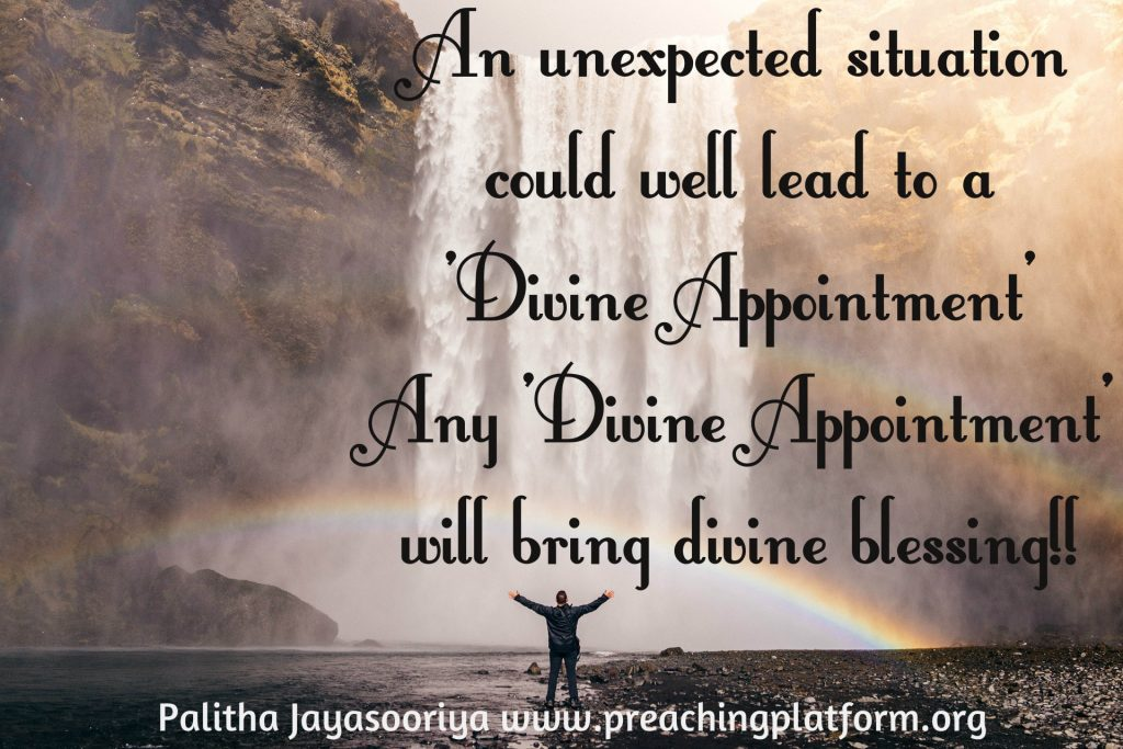 Quote : Unexpected Divine Appointments » The Preaching