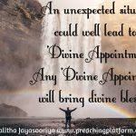 Quote : Unexpected Divine Appointments